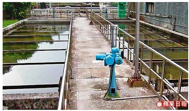 供水到基市基金一路等地的中幅淨水場,連2年被驗出含鋁量超標。
