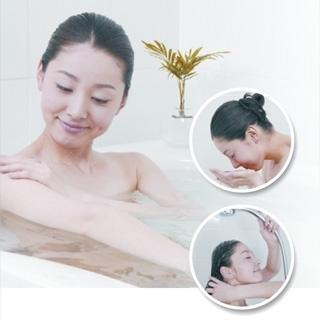 ECO沐浴淨水器保護您健康的肌膚,從改善沐浴水開始  讓纖細肌膚免受雜質、化學物質入侵